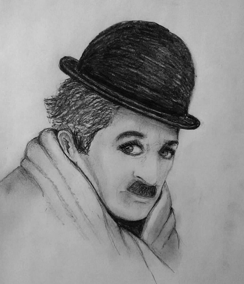 Charlie Chaplin by Etheline